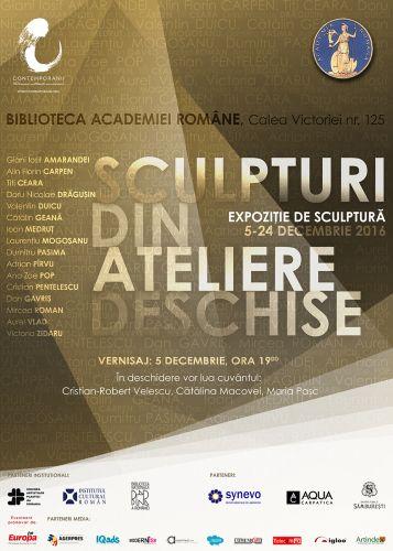 """""""Sculpturi din Ateliere Deschise"""" - Un eveniment Contemporanii la Biblioteca Academiei Române"""