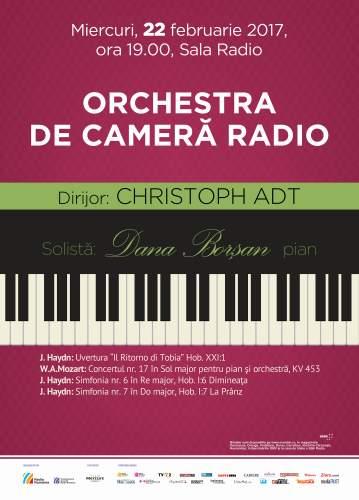 #Concert | Orchestra de Cameră Radio