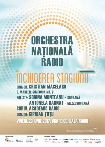 #Concert   Simfonia Învierii cu Orchestra Națională Radio si Corul Academic Radio