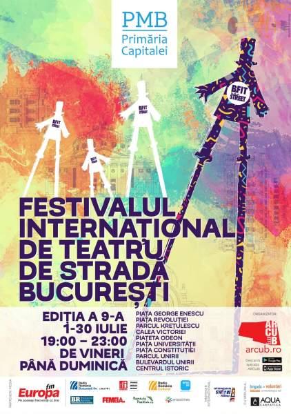 Festivalul Internațional de Teatru de Stradă București 2017