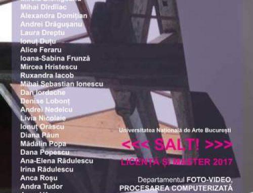 """Rezidența BRD Scena9 găzduiește """"Salt!"""", o expoziție despre schimbare în viziunea a 24 de studenți la UNArte"""