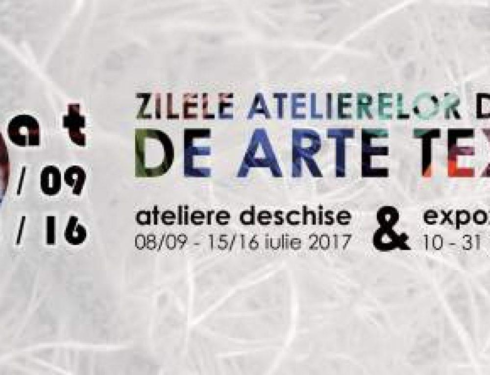 Zilele Atelierelor Deschise de Arte Textile 2017