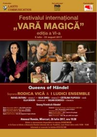 Queens of Händel în Vara Magică la Ateneul Român