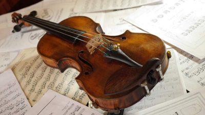 Vioara Guarneri del Gesu Catedrala lui George Enescu