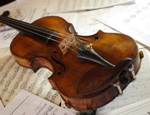 Vioara lui Enescu va fi ascultată la Teatrelli