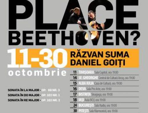 Dublu eveniment la Sala Radio: turneul Vă place Beethoven? și lansare CD cu Răzvan Suma