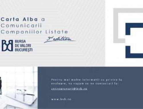 Bursa de Valori Bucuresti publica a treia editie a Cartei Albe a Comunicarii Companiilor Listate