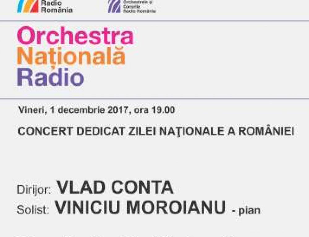 Concert de Ziua Națională a României, cu Orchestra Națională Radio