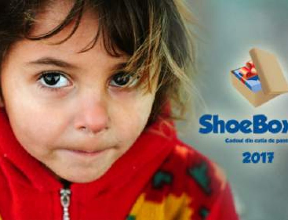 Ediția aniversară cu numărul 10 a proiectului ShoeBox – Cadoul din cutia de pantofi