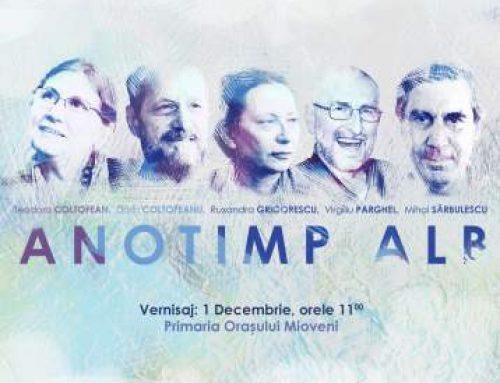 Anotimp Alb, expoziție de pictură – Proiectul Cultural Contemporanii în Mioveni