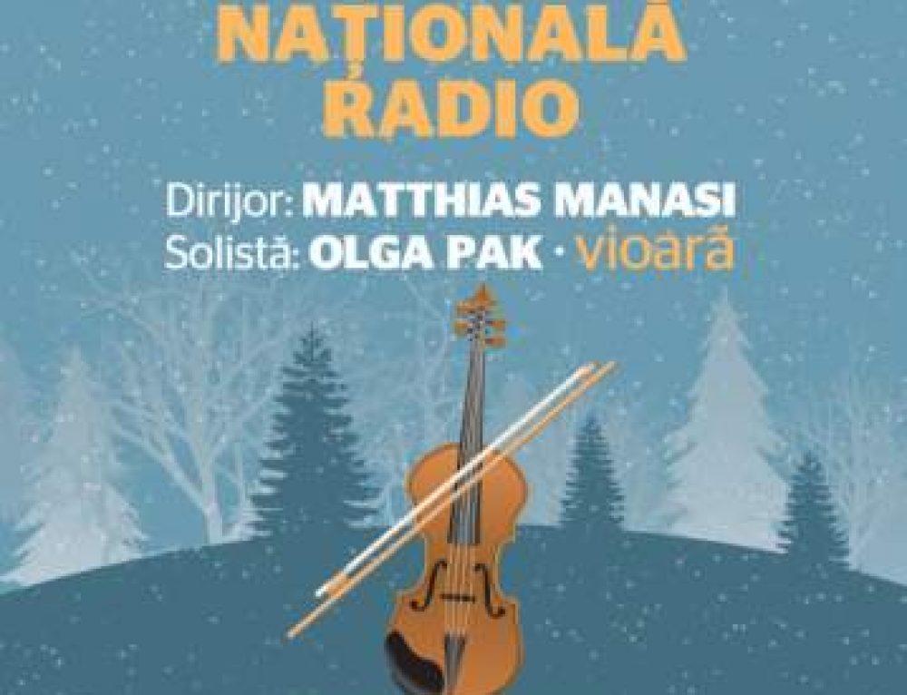 Matthias Manasi, la pupitrul Orchestrei Naționale Radio