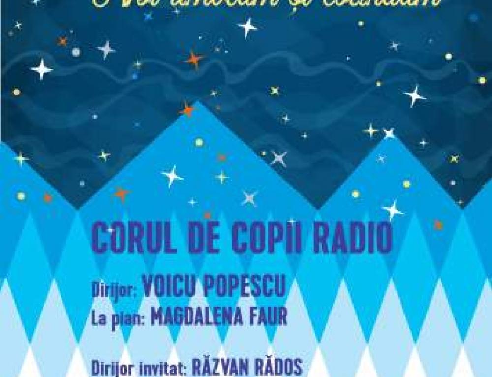 Concert de colinde cu Corul de Copii Radio, la Sala Radio
