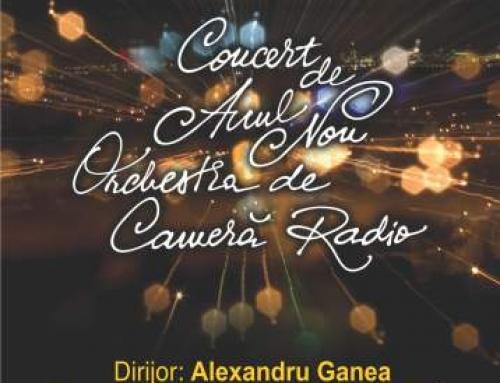 Concert de Anul Nou cu Orchestra de Cameră Radio, la Sala Radio