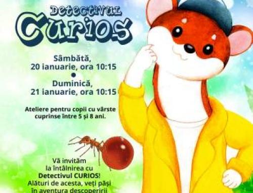Activitati de weekend cu Detectivul Curios la Antipa