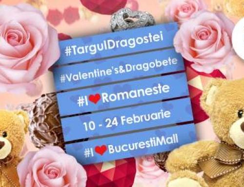 În luna iubirii, toate inimile duc la București Mall