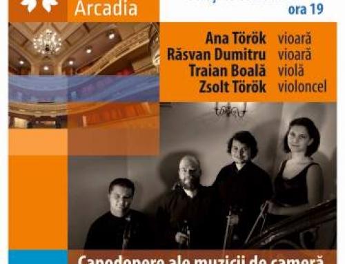 Cvartetul Arcadia la Bucureşti şi în Marea Britanie