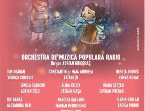 Dragobetele sărută fetele. Orchestra de Muzică Populară Radio și invitații săi, concert la Sala Radio