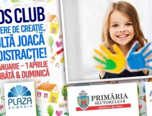 Din 17 februarie, o nouă serie de evenimente Kids Club la Plaza România