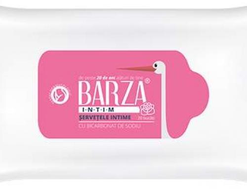 Pentru o vară fără griji, BARZA îți recomandă șervețelele intime cu bicarbonat de sodiu!