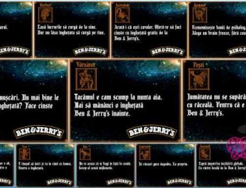 Profero coordonează comunicarea digitală a brandului Ben & Jerry's în România