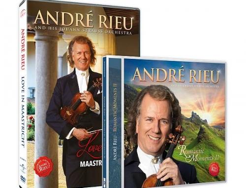 """André Rieu lansează  DVD-ul """"Love in Maastricht"""" și un nou album discografic """"Romantic Moments II"""""""