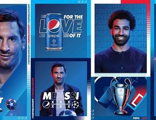 Leo Messi și Mohamed Salah dau ce au mai bun #DINPASIUNE pentru Pepsi
