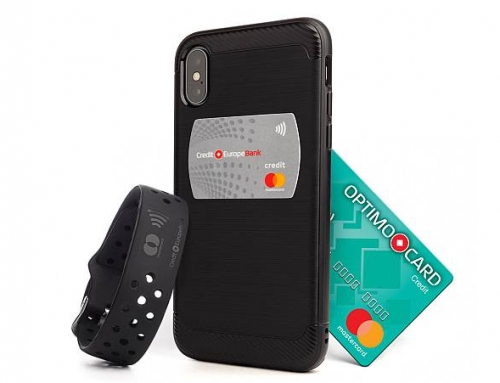 Stickerul și Brățara OPTIMO2go contactless – noile gadgeturi emise de Credit Europe Bank