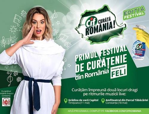 Cif Curăță România – Ediția Festival