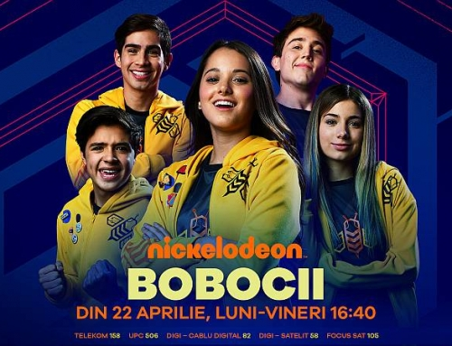 Bobocii – primul serial despre gaming, din 24 aprilie, pe Nickelodeon