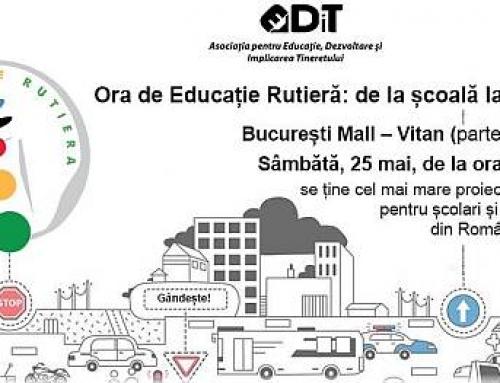 Bucuresti Mall-Vitan gazduieste Ora de Educatie Rutiera