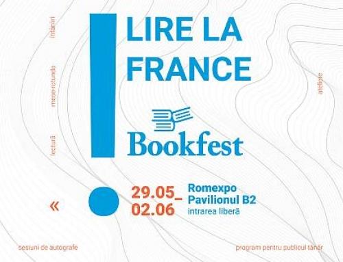 Participare excepțională a Institutului Francez din România în cadrul Bookfest 2019