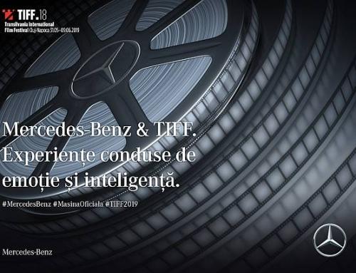 Mercedes-Benz – Mașina Oficială a TIFF, pentru al treisprezecelea an
