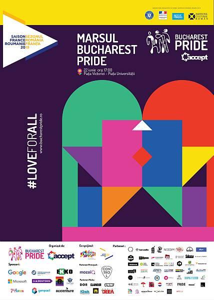 Bucharest PRIDE 2019: #loveforall între 14 și 24 iunie