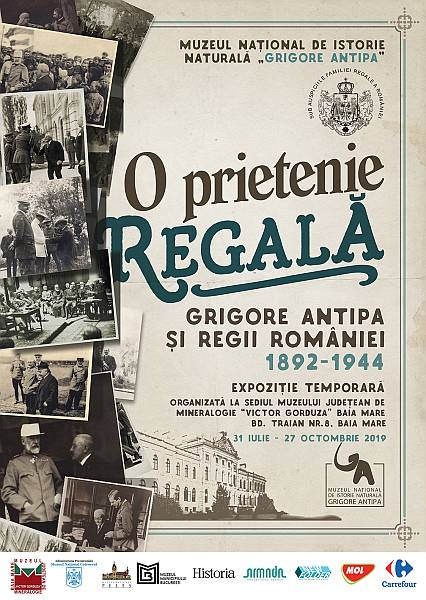 "Expoziția ""O Prietenie Regală Grigore Antipa și Regii României 1892-1944"" la Baia Mare"