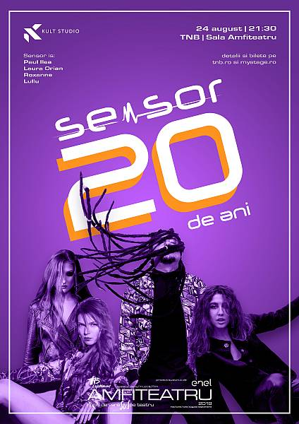 "Concert aniversar ""Sensor - 20 de ani"""