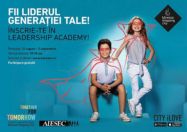 Leadership Academy: locul în care copilul tău își dezvoltă abilitățile de lider