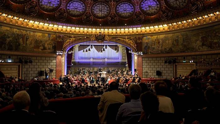 Orchestra Română de Tineret Foto Virgil Oprina