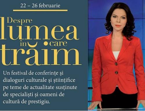 A treia ediție a conferințelor Despre lumea în care trăim are loc la Ateneul Român
