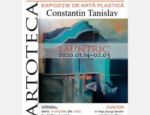 """Vernisajul expoziției personale """"Lăuntric"""" a artistului Constantin Tanislav la Artoteca BMB"""