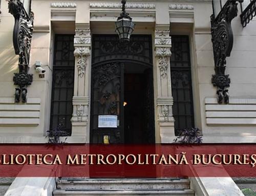 Evenimente organizate de Biblioteca Metropolitană Bucureşti cu ocazia Zilei Culturii Naționale