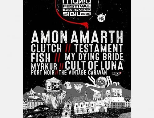 ARTmania 2020 (24-25 iulie), noi confirmari: Fish, Port Noir si Testament intregesc line-up-ul editiei aniversare.