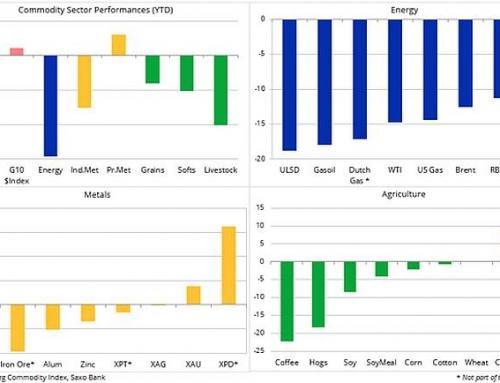 Un inceput de an prost pentru sectorul energetic: Analiza Saxo Bank