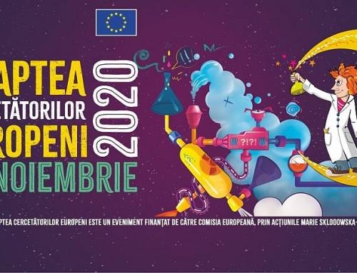 Știința vine la tine acasă pe 27 Noiembrie la Noaptea Cercetătorilor Europeni 2020