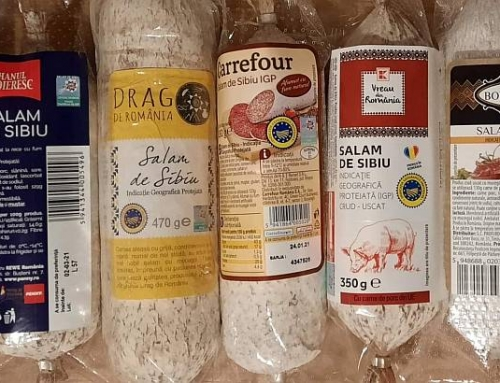 Asociația Pro Consumatori (APC): Salamul de Sibiu se fabrică de 6 producători şi se vinde sub 16 mărci!