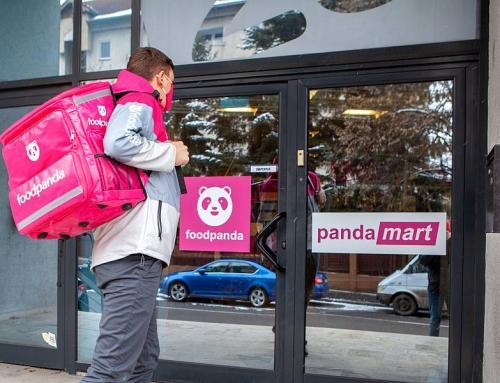 foodpanda România lansează pandamart, magazine proprii pentru cumparături rapide, din care livrarea se va face în maximum 30 de minute
