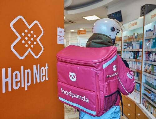 foodpanda va livra rapid produse de la farmaciile Help Net
