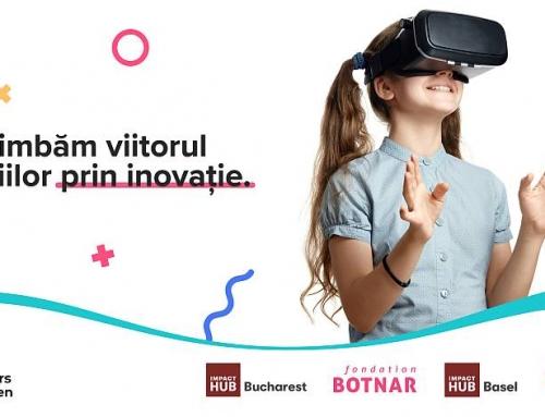 50.000 de euro pentru inovații tehnologice  care îmbunătățesc viețile copiilor